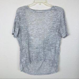 Alternative Apparel Hi Low Scoop Back T Shirt Tee